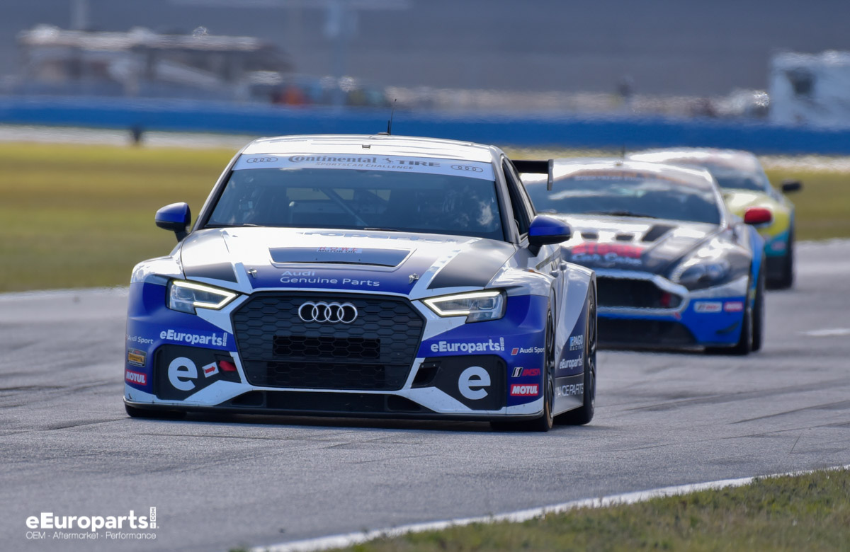 eEuroparts.com Racing Roar Before The 24 2018 Audi RS 3 LMS