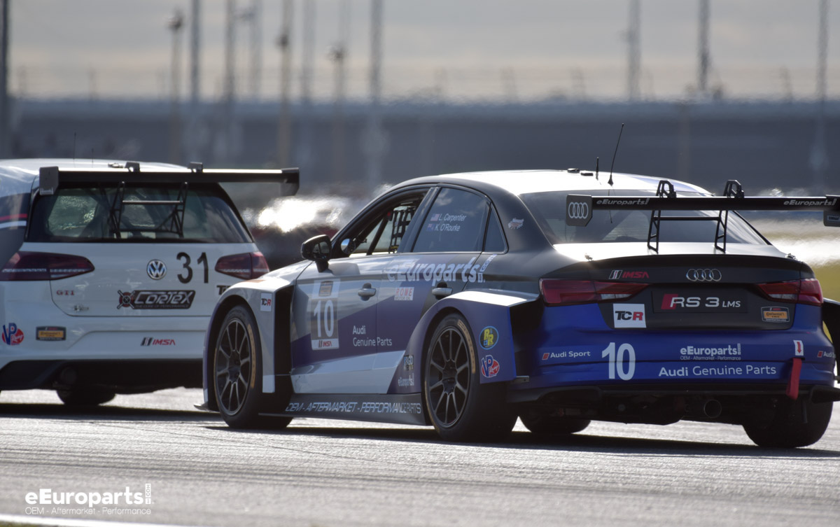 Audi VW TCR Class Roar before the 24